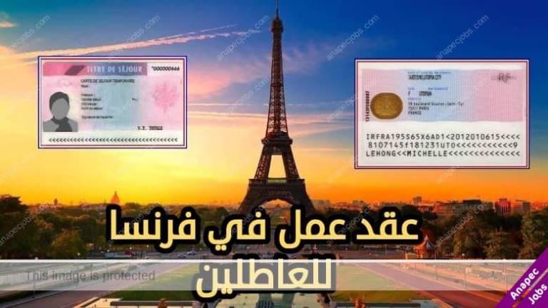 فرص عمل في باريس 2021