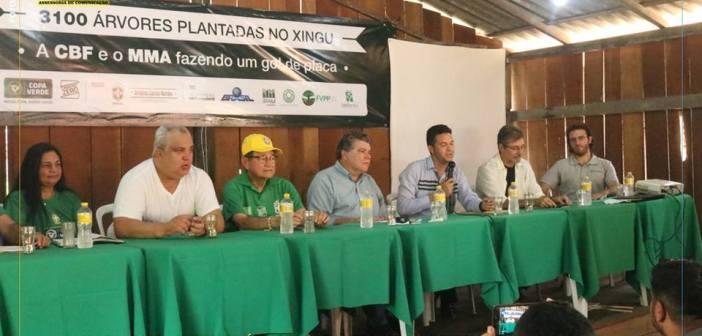 Anapu é escolhida para plantio de árvores do Projeto Carbono Zero
