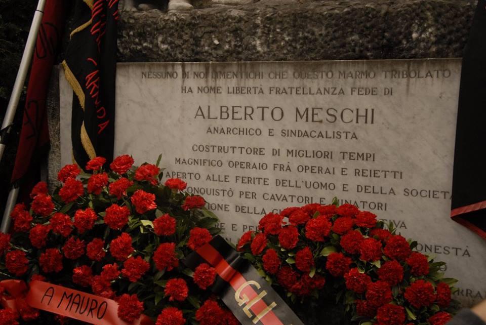 Alberto Meschi e l'alcolismo.