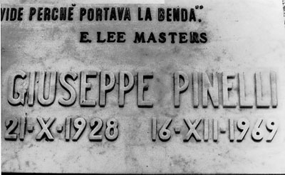 Il 21 ottobre 1928 nasce a Milano  Giuseppe Pinelli.