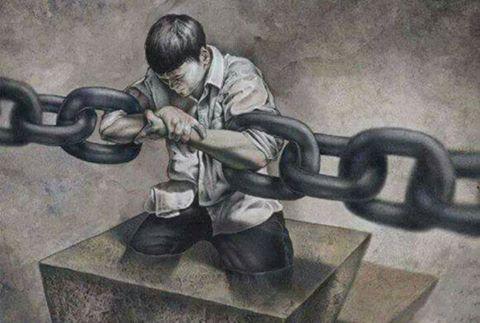 Sei tu l'anello della catena. Spezzala!