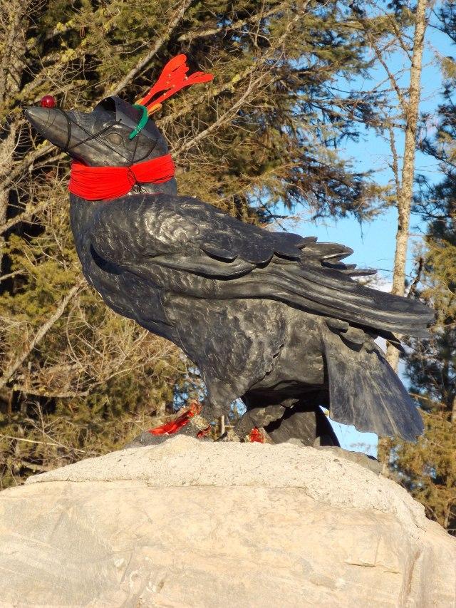 Christmas Raven 2014
