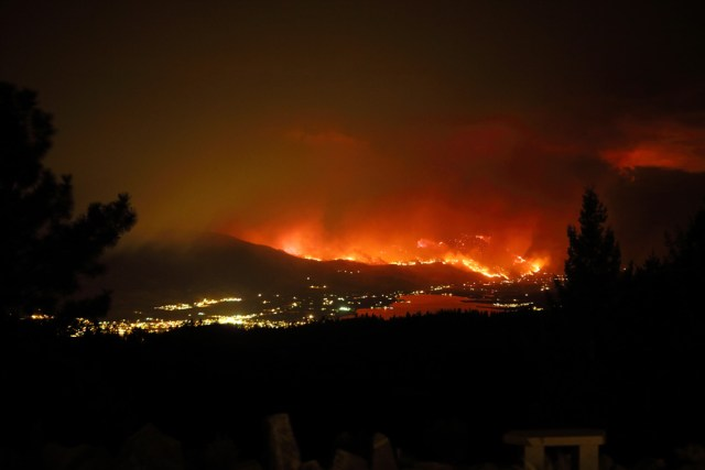 Oliver Fire August 14