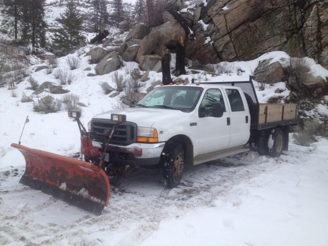 snow plow and big rock 056