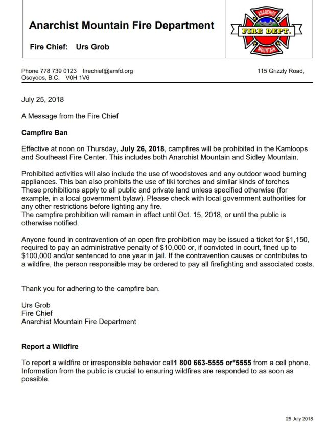 Fire Chief July 2018