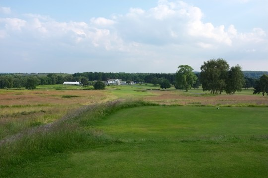 The view from the 18th tee.