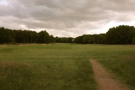 The view from the start of the 16th fairway.