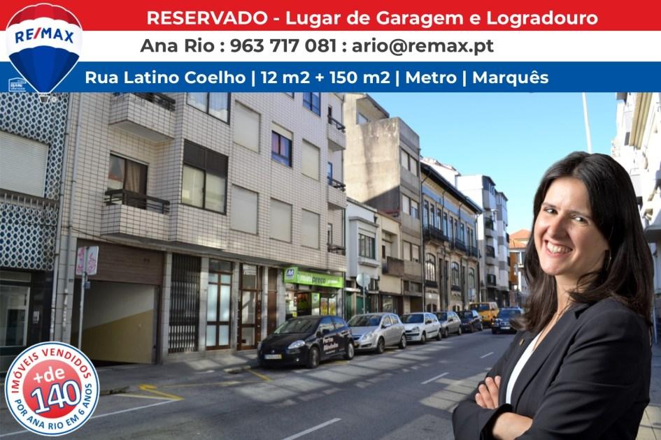 RESERVADO - Lugar de Garagem e Logradouro
