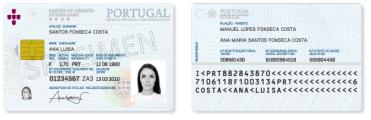 Documento de Identificação - Cartão de Cidadão