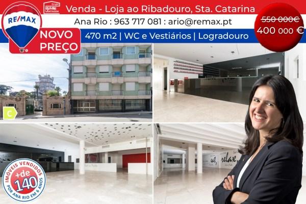 NOVO PREÇO - Venda Loja com 470 m2 em Sta Catarina