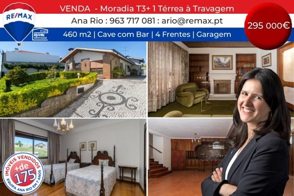 VENDA - Moradia Térrea T3+1