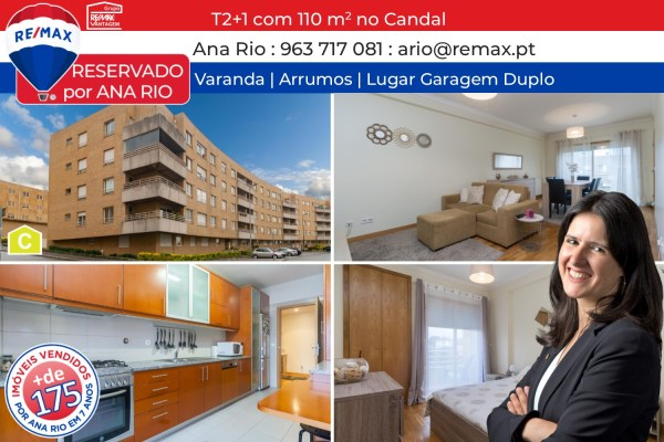 Reservado Apartamento T2+1 no Candal