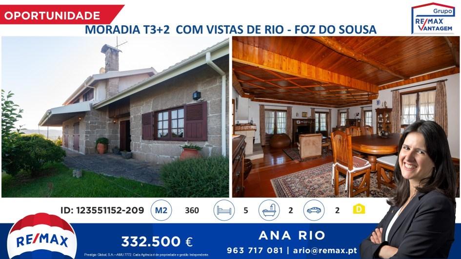 Oportunidade - Fantástica Moradia T3+2 em Foz do Sousa