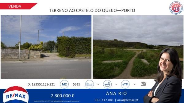 Venda - Terreno à Av. da Boavista e Parque da Cidade