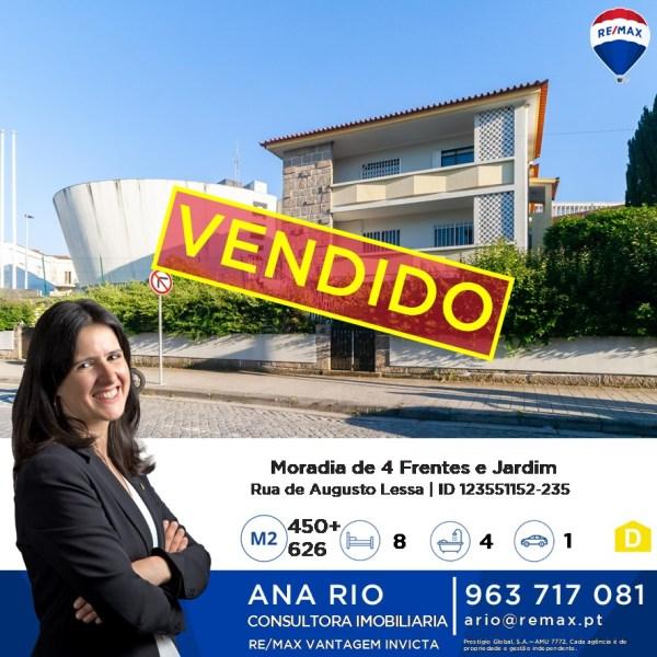 ID235 Vendido - Moradia em Augusto Lessa