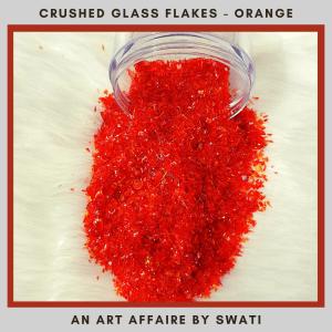 Crushed Glass Stone Flakes