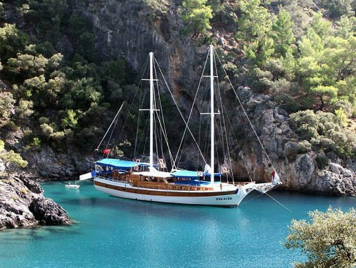 Boat Cruise from Fethite to Olympos