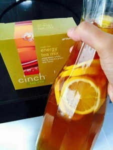 cinch tea energy