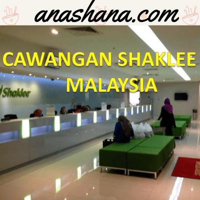 cawangan atau branch shaklee malaysia