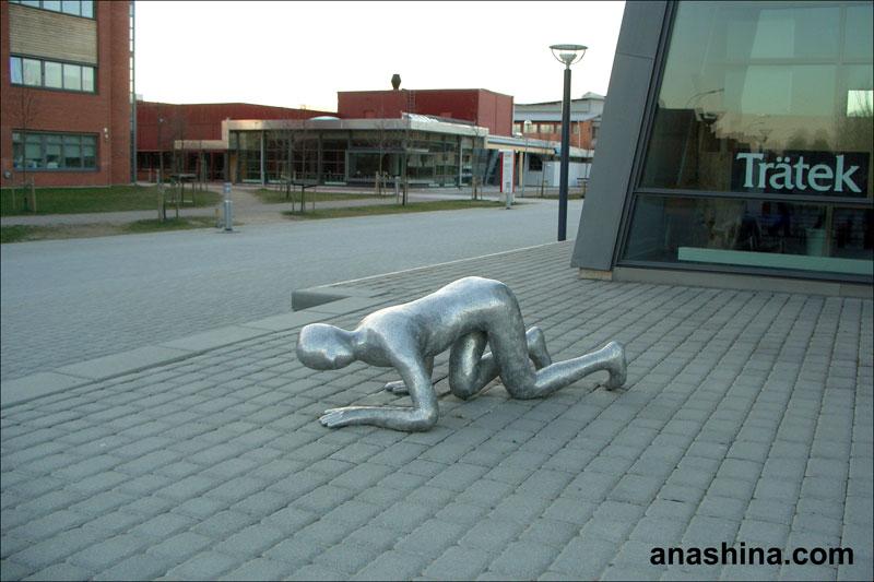 Шведская уличная скульптура