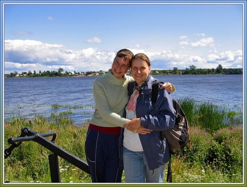 Юля и я