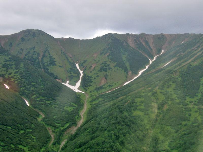 Над перевалами