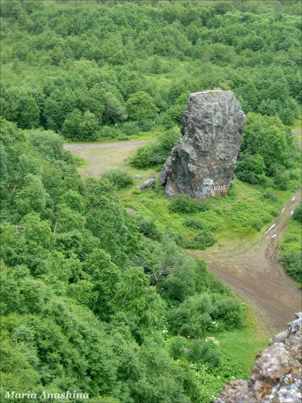 Камчатка, Халактырские скалы