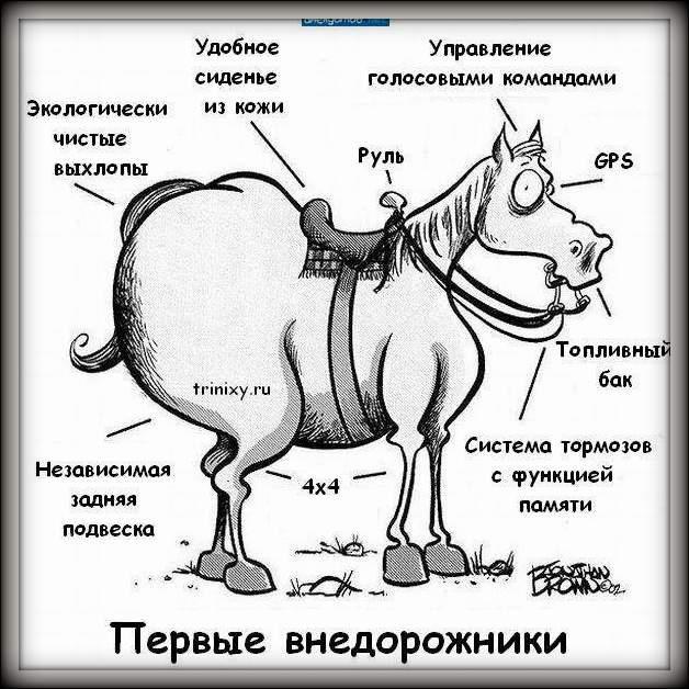 Лошадь - первый внедорожник