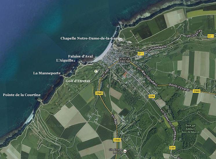 Etretat-map