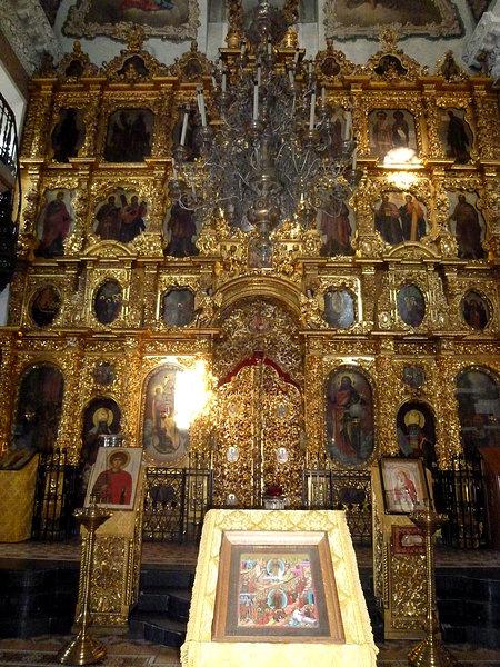 Иконостас Строгановской церкви