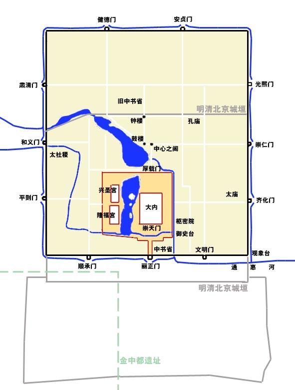 Даду, Пекин
