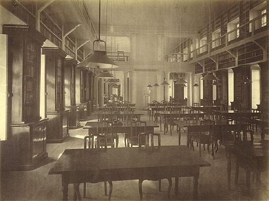 Читальный зал в доме Пашкова. 1880 г.