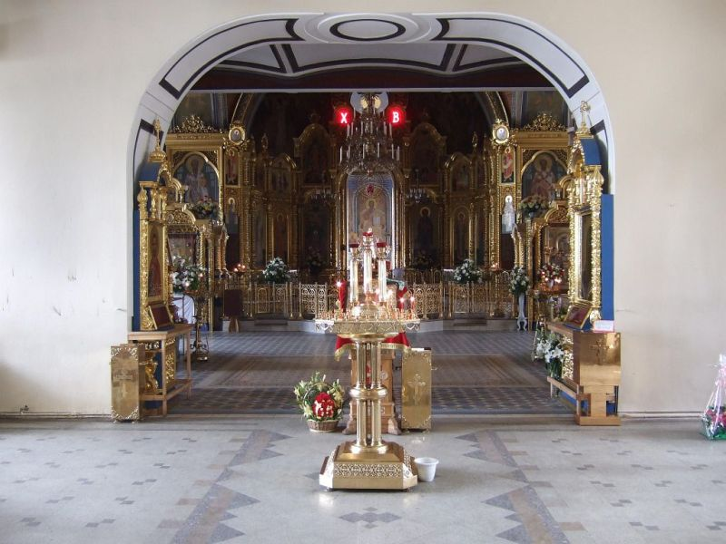 Троице-Лыково, Успенский храм