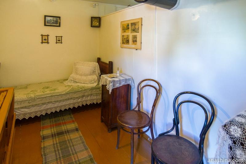 Жилая комната, дом Циолковского, Калуга