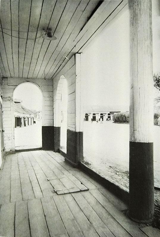 Торговые ряды в Солигаличе, старое фото