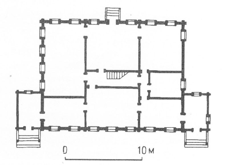 План усадебного дома в Ваньково