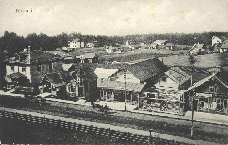 Терийоки в 1910-х годах