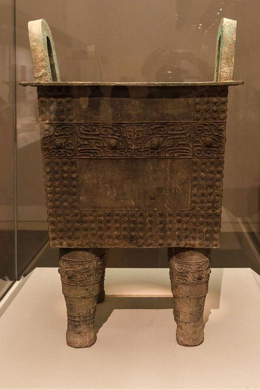 Тетрапод-дин, Ранняя Шан (XVI-XIV вв. до н.э.). Национальный музей Китая, Пекин