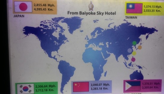 Baiyoke Sky Hotel Map Distance