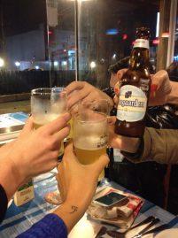 Cervejas e peixinhos! Um brinde ao Yelp!
