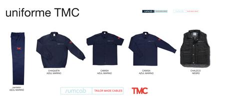 Diseño uniforme Sumcab TMC