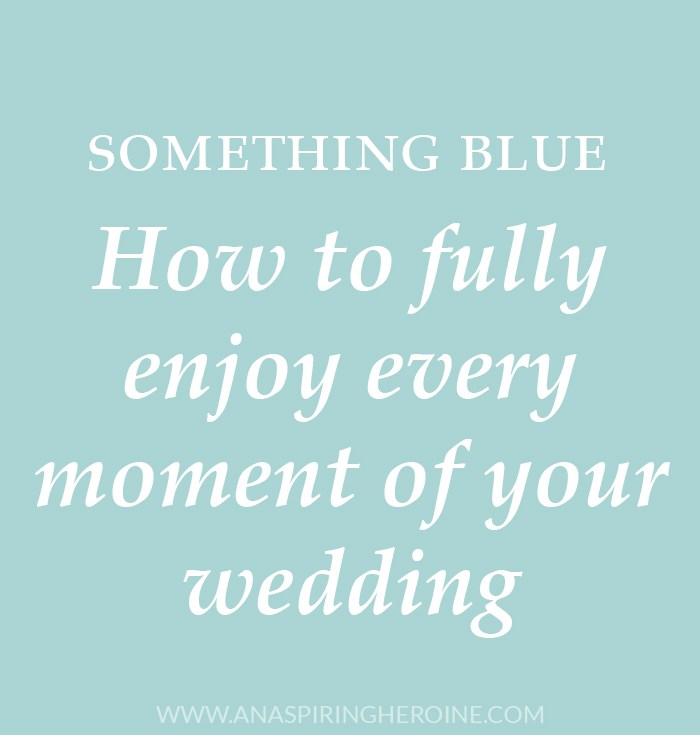 How to fully enjoy your wedding