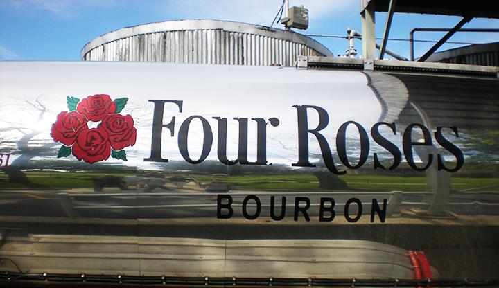 kentucky bourbon trail four roses