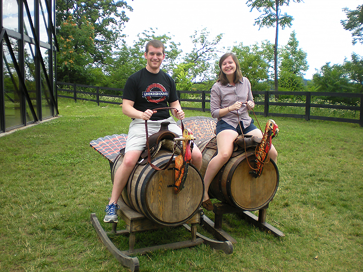 kentucky bourbon trail wild turkey ride