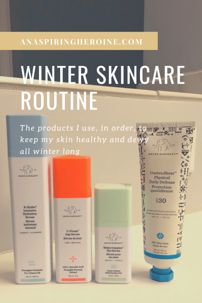 The winters in Cincinnati are intense, which is why I've perfected a winter skincare routine for hydrated skin. A full list of products in order of use. | An Aspiring Heroine.com