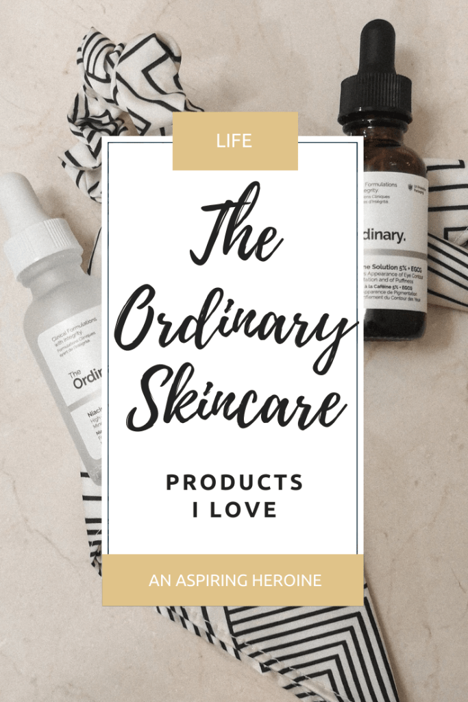 A look at some of my favorite products from The Ordinary skincare brand, including what you should buy during their November sale! | An Aspiring Heroine.com