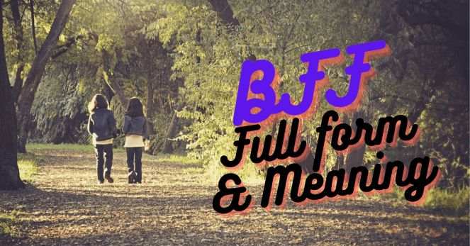 BFF Meaning in Hindi | What is Full Form of BFF?