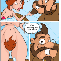 Anastasia needs some help with shaving her very hairy pussy...
