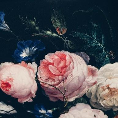 flowers at the Rijksmuseum Amsterdam via anastasiabenko.com