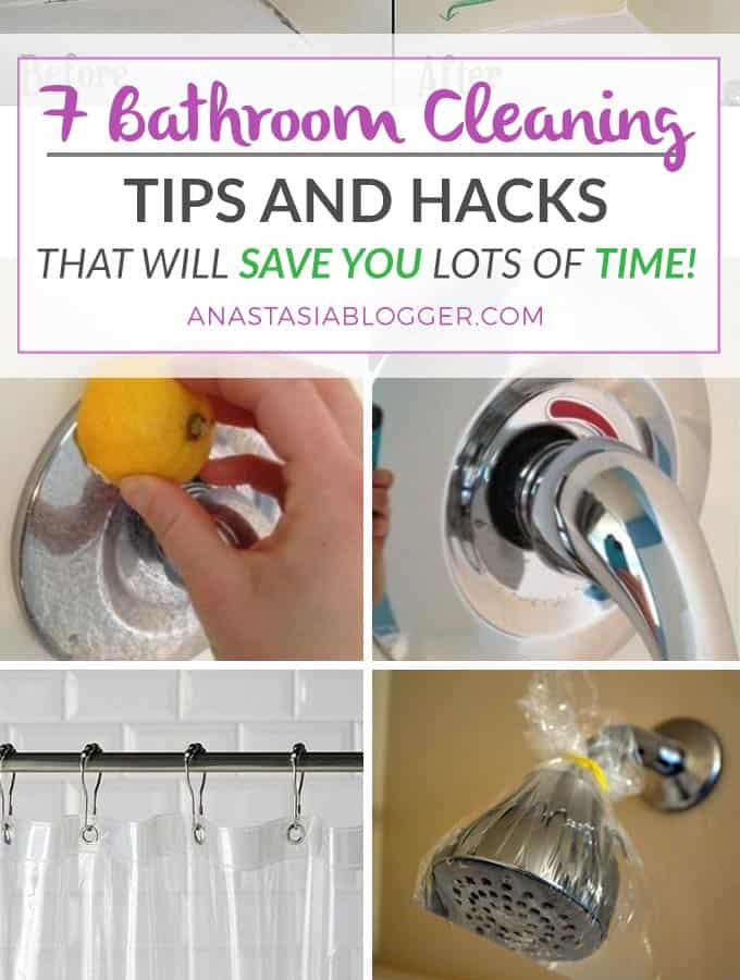 Bathroom Cleaning Tips, Bathroom Cleaning Hacks That Will Save You Lots Of  Time! Bathroom